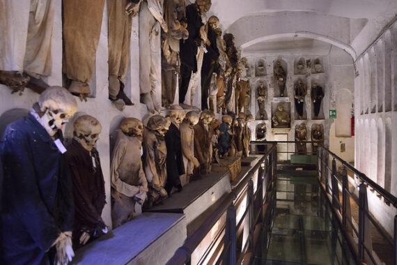 Incontri magici alle catacombe: visita del 19 Agosto scorso