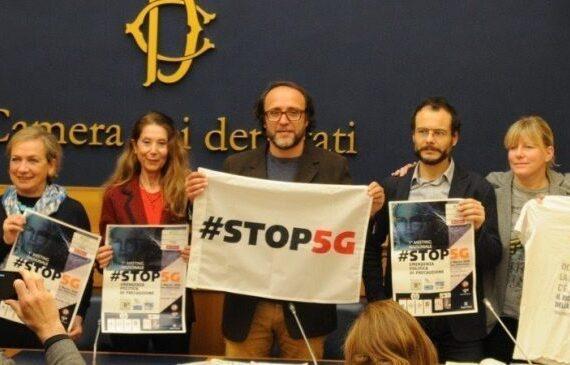 Stop 5G! Conferenza stampa alla Camera e ora si attende la calendarizzazione della mozione.